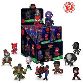 Funko Boîte mystère - Marvel - Spider-Man Into the Spider-Verse Figurine Mystery Minis *Liquidation*