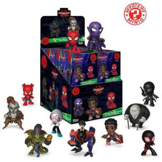 Funko Boîte mystère - Marvel - Spider-Man Into the Spider-Verse Figurine Mystery Minis