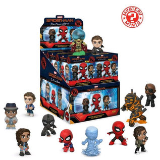 Funko Boîte Mystère - Marvel - Spider-Man Far From Home Figurine Mystery Minis