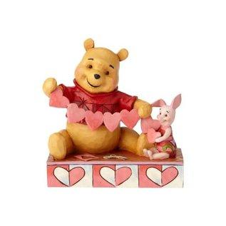 Enesco Showcase Collection - Disney Traditions - Winnie L'Ourson: Coeurs de Valentin par Jim Shore