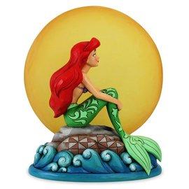 Enesco Showcase Collection - Disney Traditions - La Petite Sirène: Sirène sous le Clair de Lune avec Lumière par Jim Shore