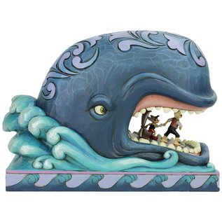 Enesco Showcase Collection - Disney Traditions - Pinocchio: Un Monstre de Baleine par Jim Shore