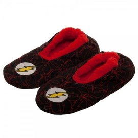 Bioworld Slippers - DC Comics - The Flash Embroidered Logo