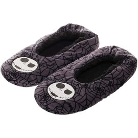 Bioworld Slippers - The Nightmare Before Christmas - Silver Shiny Jack Skellington
