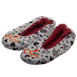 Bioworld Slippers - Harry Potter - Harry's Glasses Grey