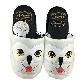 Bioworld Slippers - Harry Potter - Hedwig Letter to Hogwarts