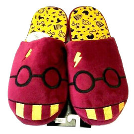 Bioworld Slippers - Harry Potter - Harry's Glasses Red