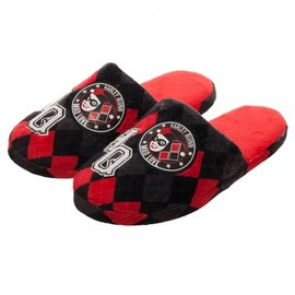 Bioworld Slippers - DC Comics - Harley Quinn Mad Love