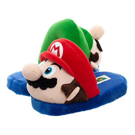 Bioworld Pantoufles - Nintendo - Super Mario et Luigi 3D