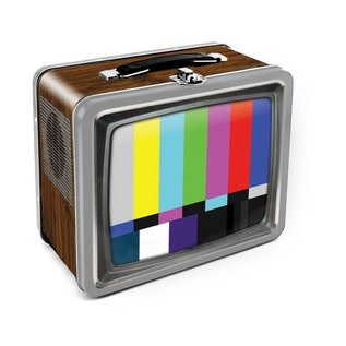 Aquarius Boîte à lunch - Générique - Télévision Rétro en Métal