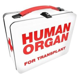 Aquarius Lunch Box - Generic - Human Organs for Transplant Tin