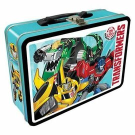 Aquarius Lunch Box - Transformers - Robots in Disguise Tin