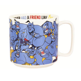 Paladone Tasse - Disney - Aladdin Génie Never Had a Friend Like Tea 12oz