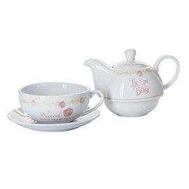 Katalyst Licensing Teapot - Disney - Beauty and the Beast Tea for One Set