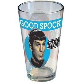 Icup Inc. Glass - Star Trek - Good Spock Evil Spock 16oz