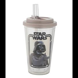 Vandor Travel Glass - Star Wars - Darth Vader Insulating with Straw 20oz