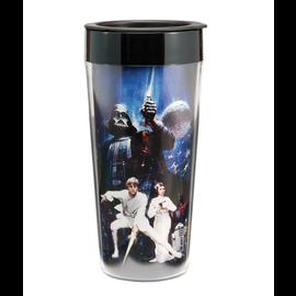 Vandor Travel Mug - Star Wars - In a Galaxy Far Far Away Insulating 16oz