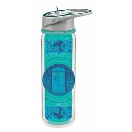 Vandor Travel Bottle - Doctor Who - Tardis with Straw 18oz