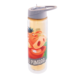 Vandor Travel Bottle - The Lion King - Timon and Pumbaa with Straw 18oz