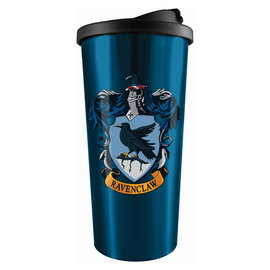 Spoontiques Travel Mug - Harry Potter - Ravenclaw Crest Insulating Stainless Steel 18oz