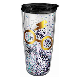 Spoontiques Travel Mug - Harry Potter - Harry's Glasses with Glitters Insulating 16oz