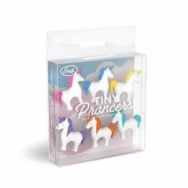 Fred Glass Markers - Tiny Prancers - Unicorns Pack of 6