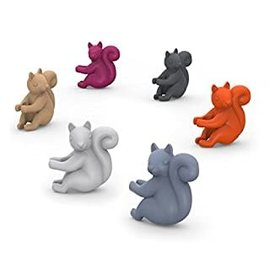 Fred Glass Markers - Social Climbers - Squirrels Pack of 6
