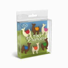 Fred Glass Markers - Tiny Prancers - Llamas Pack of 6