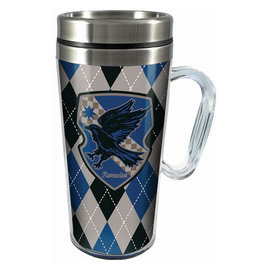 Spoontiques Travel Mug - Harry Potter - Ravenclaw Crest Insulating with Handle 16oz