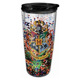 Spoontiques Tasse de voyage - Harry Potter - Blason de Poudlard avec Brillants Isolante 16oz