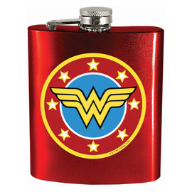 Spoontiques Flask - DC Comics - Wonder Woman Logo 7oz