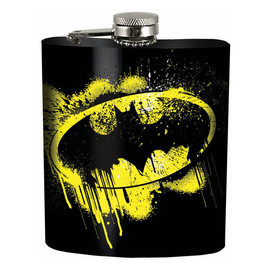 Spoontiques Flask - DC Comics - Batman Logo 7oz