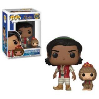 Funko Funko Pop! - Disney Aladdin - Aladdin of Agrabah with Abu 538