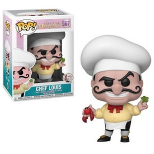 Funko Funko Pop! - Disney The Little Mermaid - Chef Louis 567