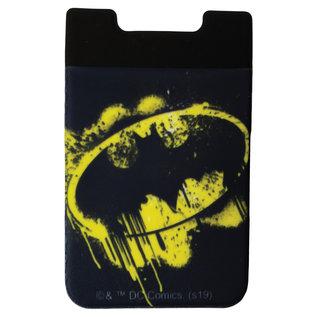 Spoontiques Accessoire pour téléphone - DC Comics - Logo Batman Porte-Carte Autocollant