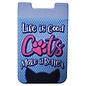 Spoontiques Accessoire pour téléphone - Chat - Life is Good Cats Make it Better Porte-Carte Autocollant