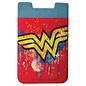 Spoontiques Accessoire pour téléphone - DC Comics - Logo Wonder Woman Porte-Carte Autocollant