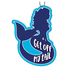 Spoontiques Car Accessory - Mermaid - Get Off My Tail Air Freshener Pack of 3