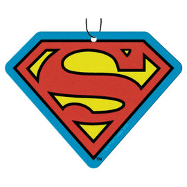 Spoontiques Car Accessory - DC Comics - Superman Logo Air Freshener Pack of 3