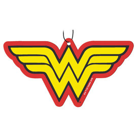 Spoontiques Car Accessory - DC Comics - Wonder Woman Logo Air Freshener Pack of 3