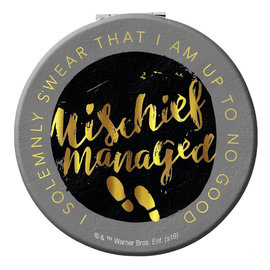 Spoontiques Compact Mirror - Harry Potter - Mischief Managed