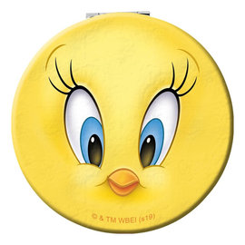 Spoontiques Miroir Compact - Looney Tunes - Tweety Bird