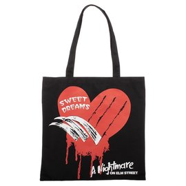 Bioworld Reusable Bag - Nightmare on Elm street - Sweet Dreams Canvas Tote