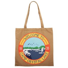Bioworld Reusable Bag - Friday the 13th - Welcome to Camp Lake Crystal Canvas Tote