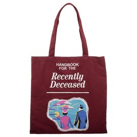 Bioworld Reusable Bag -  Beetlejuice - Handbook for the Recently Deceased Canvas Tote