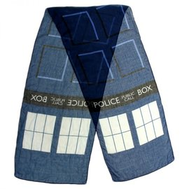 Elope Scarf - Doctor Who - Tardis Thin Light