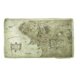 Elope Scarf - Lord of the Rings - Map of Middle Earth Light