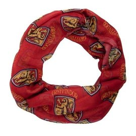 Bioworld Scarf - Harry Potter - Gryffindor Crest Infinity Light