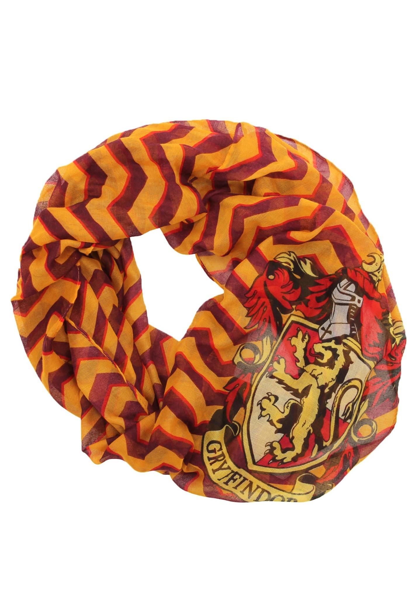 Foulard Harry Potter Maison Gryffindor Mince Infini Leger