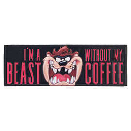 Spoontiques Signe pour bureau - Looney Tunes - I'm a Beast Without my Coffee Diable de Tasmanie
